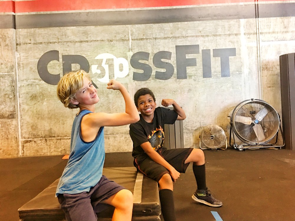 Junior Varsity - CROSSFIT TWEENS 10-12 YEARS OLD
