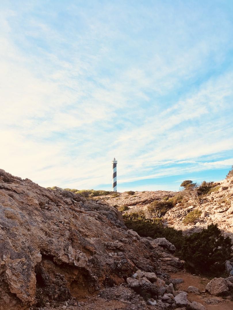 Leuchtturm von Portinatx