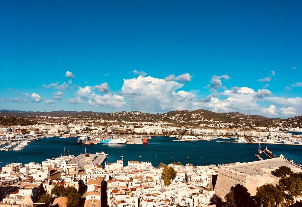 Views to Eivissa
