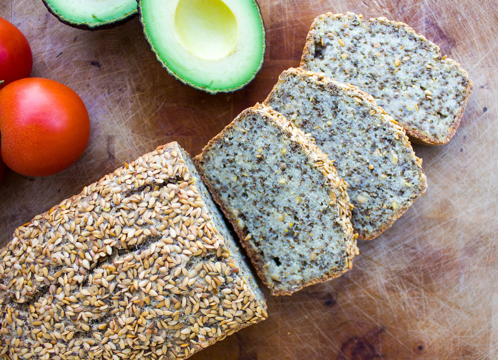 Easy homemade bread made out of quinoa, millet and chia. Gluten free, vegan and without yeast.