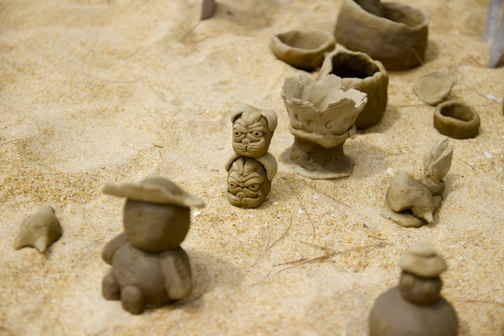 sea children ceramics workshop 2017 - children day