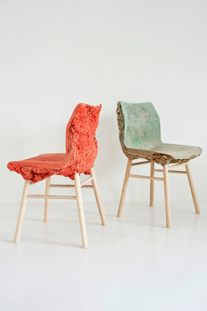 Marjan van Aubel and James Shaw's Well Proven Chair
