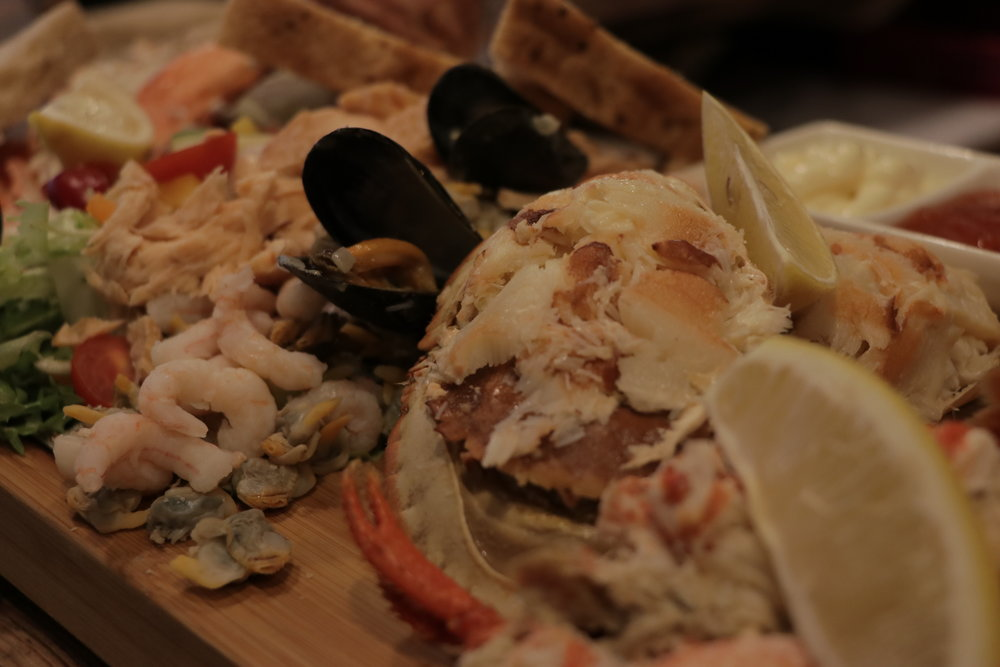 CROMER CRAB, LOBSTER & FRIENDS (CRABS & LOBSTER AVAILABLE WHILST IN SEASON)