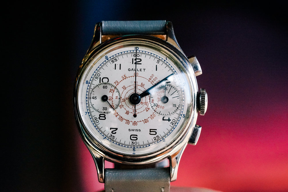 Gallet-Multichron-Commander-dial