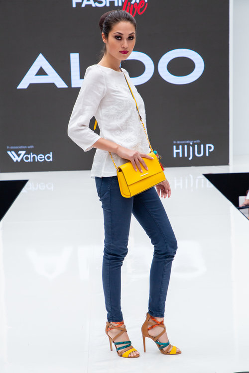 Aldo Valecia Heels and Chatfield Mustard CrossBody Bag — Modest ... bc95c10c216b1