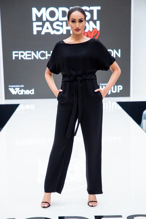 d84307a28bf9 French Connection Patras Crepe Jumpsuit — Modest Fashion Live
