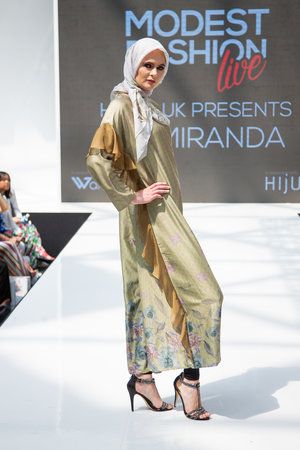 2a8a303b800b2 Hijup Vivi Zubedi Tranquil Dress and Nathalie Hijab