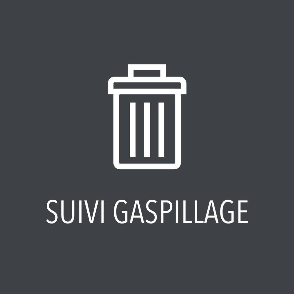 Identifiez les sources de gaspillage dans vos cuisines