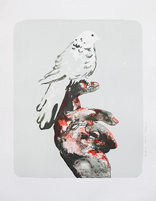 Françoise Pétrovitch  Lithographie, 2016, 79 x 61 cm, 60 ex./BFK Rives (Réservée aux membres donateurs)