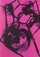 Barthélémy Toguo  Cartes de correspondance, lithographie 2013, 21 x 16 cm