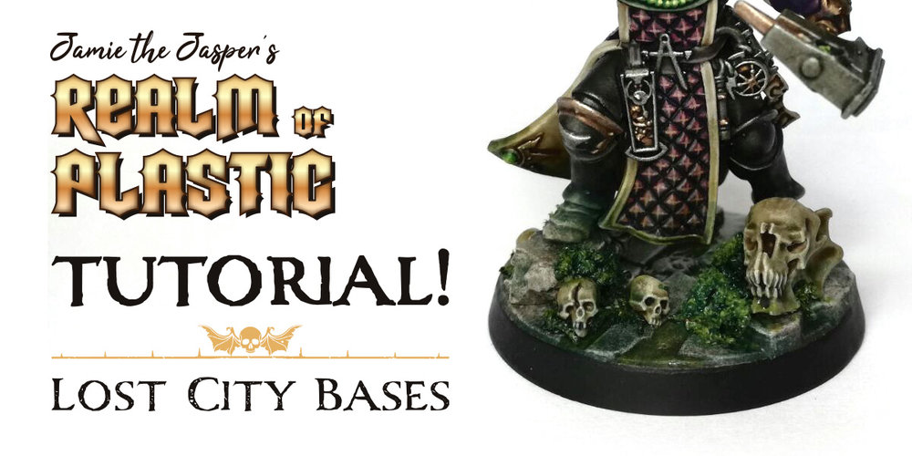 Warhammer Age of Sigmar Ruined fantasy City Basing Tutorial Blog