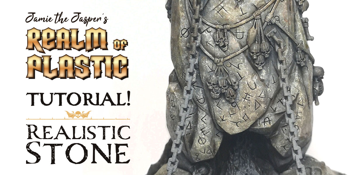Painting Tutorial: Realistic Stone — Realm of Plastic
