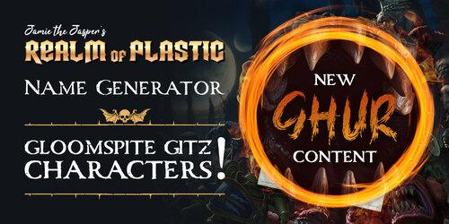 Character Name Generator - Gloomspite Gitz — Realm of Plastic