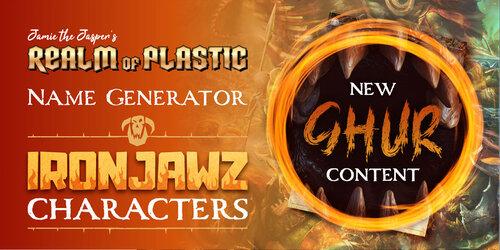 Character Name Generator - Ironjawz — Realm of Plastic