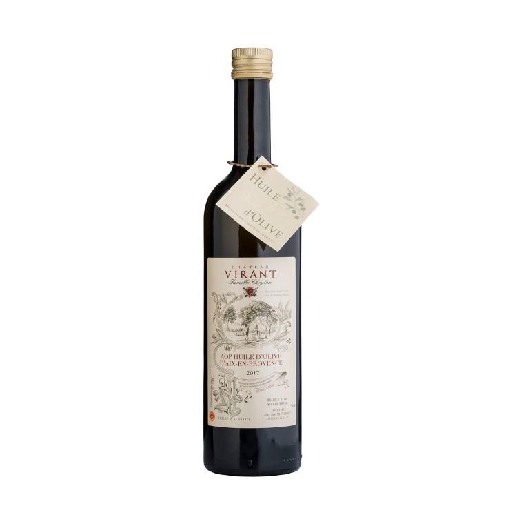 - Secteur : GourmetAnnée de création : 1632Son engagement Go for Good : LocalSes critères : La sélection Go For Good de la marque Château Virant a été fabriquée en France par une marque détentrice du label Entreprise du Patrimoine Vivant. Décerné par l'Etat, ce label distingue les savoir-faire rares, renommés ou ancestraux, reposant sur la maîtrise de techniques traditionnelles ou de haute technicité.A découvrir : L'huile d'olive d'Aix-en-Provence