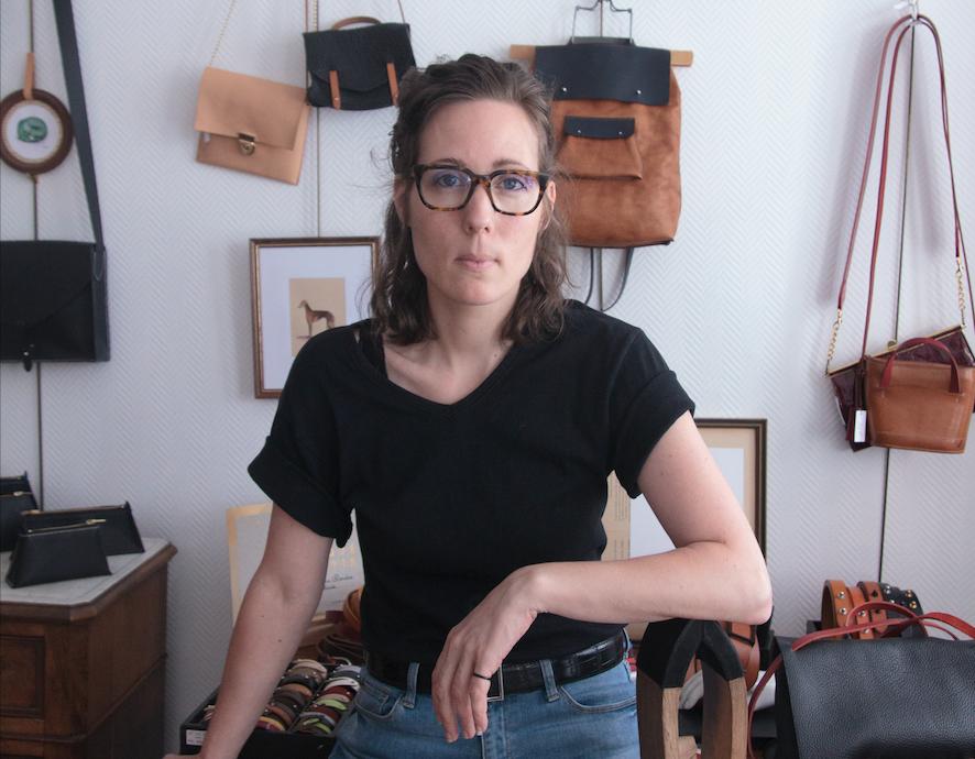 Karoline Bordas, maroquinière sellière - Propos recueillis par Audrey Harris