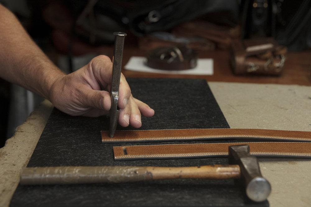 Marius Chaptal, réparateur maroquinier depuis 1986 - Propos recueillis par Audrey Harris