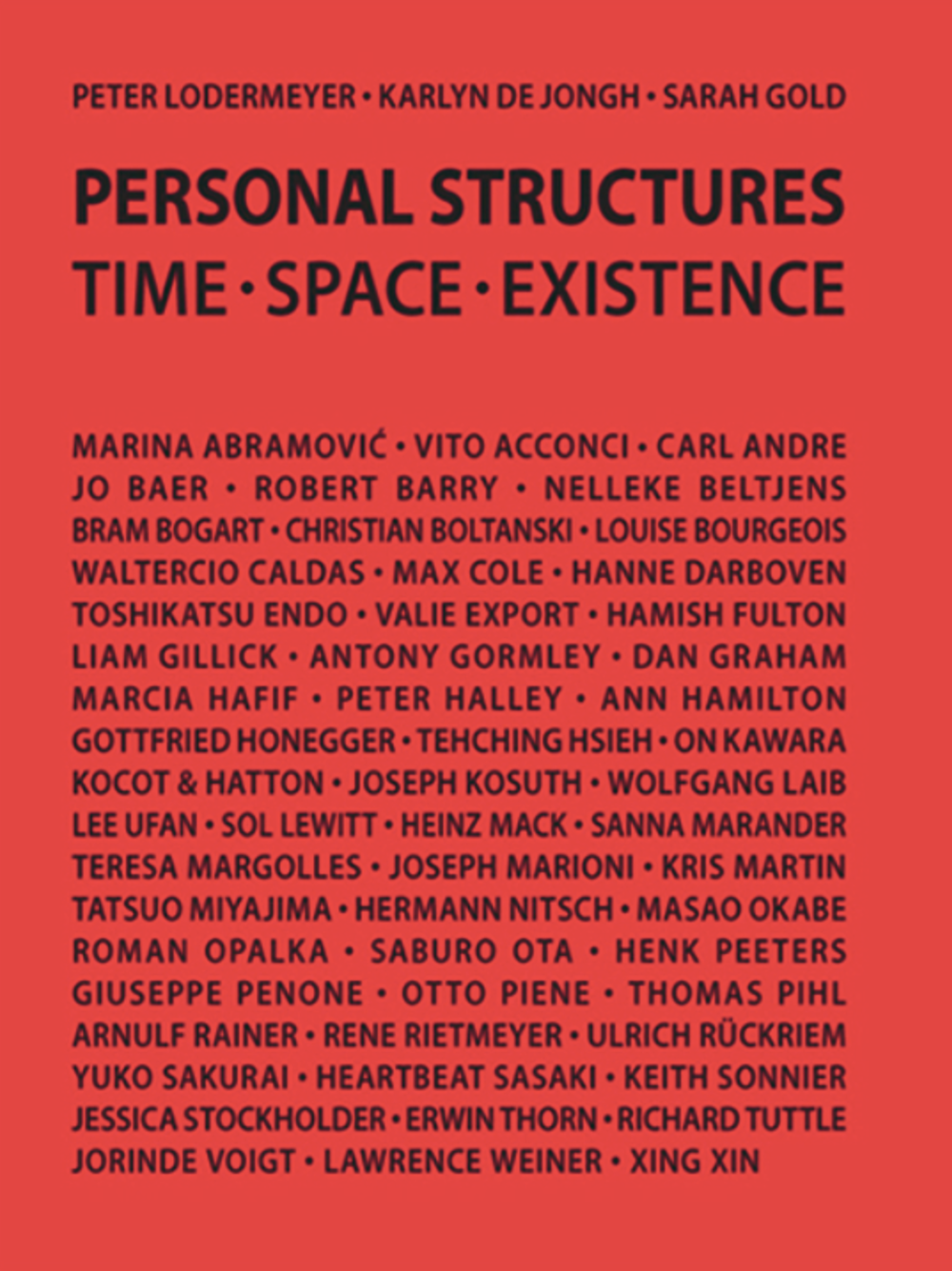 Personal Structures,TIME • SPACE • EXISTENCE  – click on image to read full article
