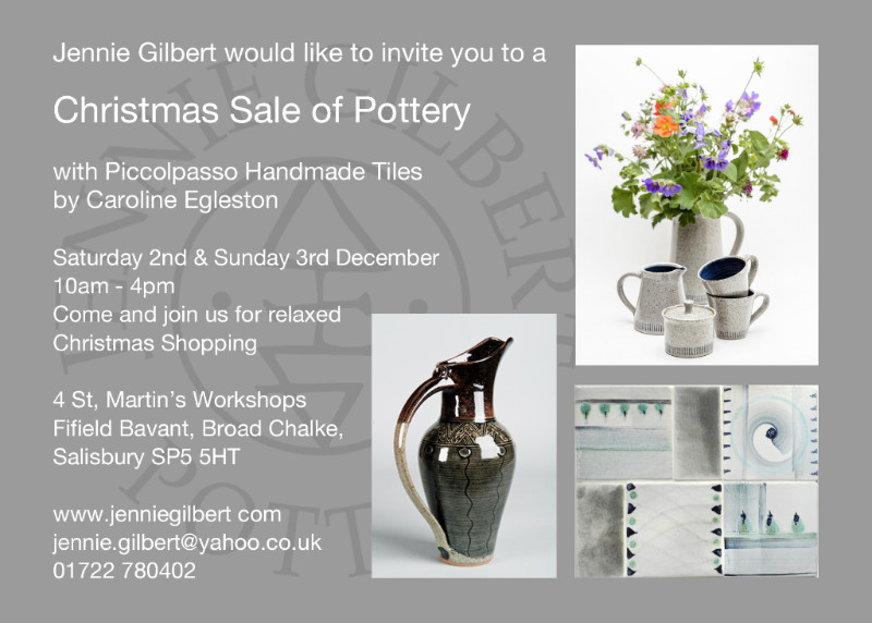 Christmas Sale of Pottery