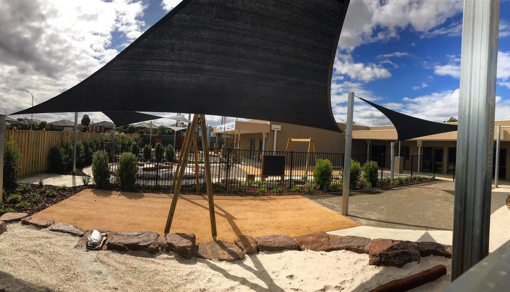 childcare playground - 06/04/2019Take a sneak peak at the progression of the childcare centre playground.