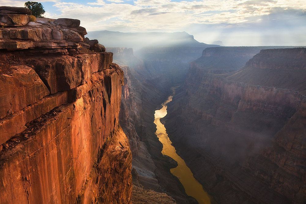 Gold Grand Canyon