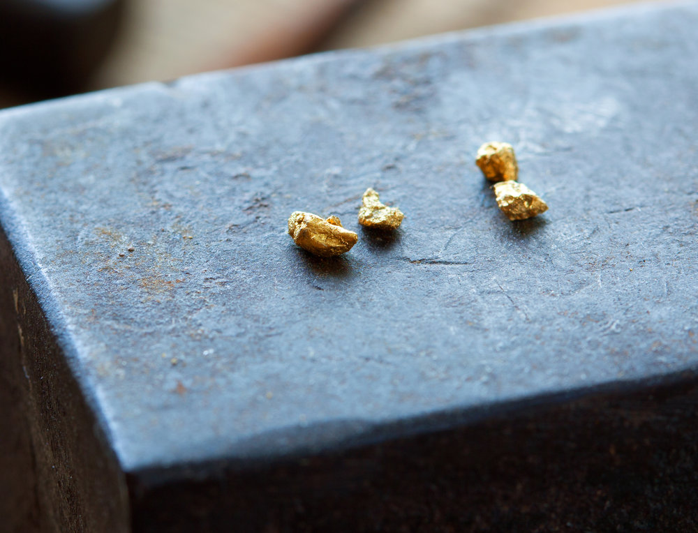 Futura Jewelry gold nuggets