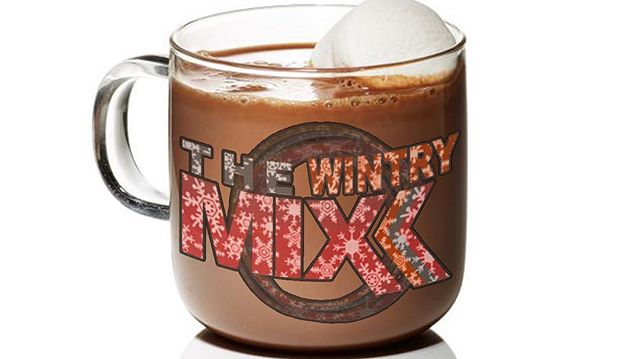 It's COLD! Come warm up at the Wintry Mix! 6:30-8:30. Obviously s'mores and bonfires included.
