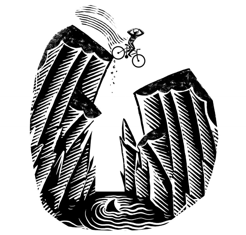 Illustration for 'Extreme Sports and Beauty Therapy'. A short story by Alexander McCall Smith