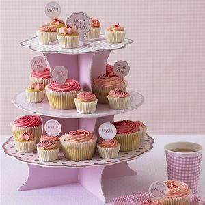 Cupcake Stands Cupcake Stand Pink