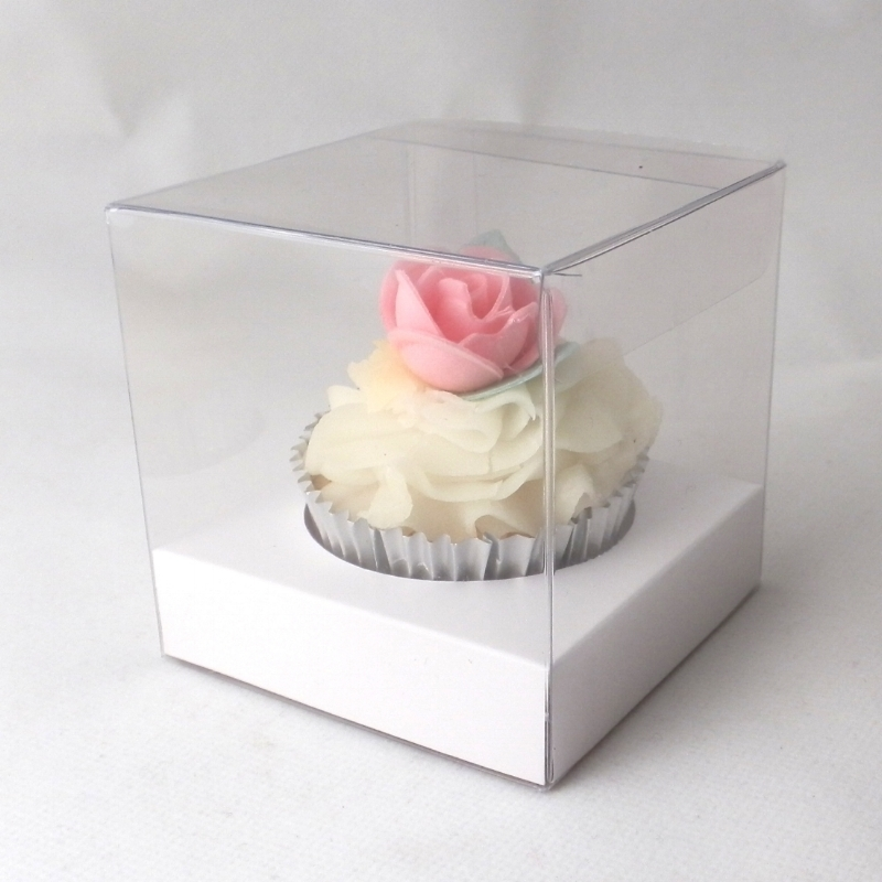 SHOP: Cupcake Boxes - Boxes for individual cupcakes and cupcake boxes for 2, 3, 4, 6 and more with cupcake inserts in a large range of designs and colours.