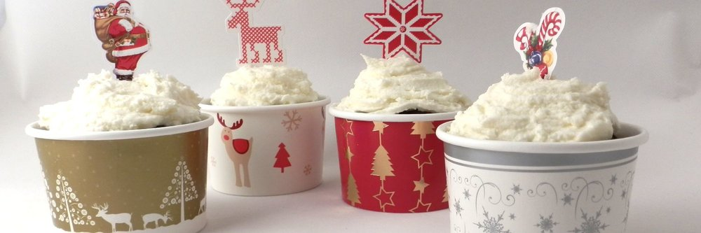 Christmas Muffin cups -
