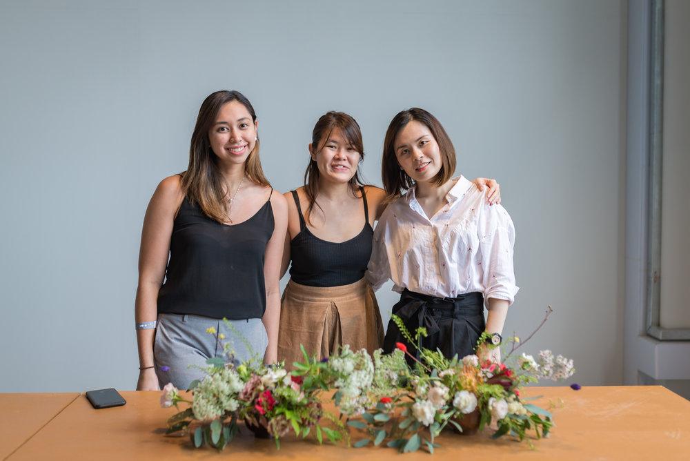 The ladies at Poppy