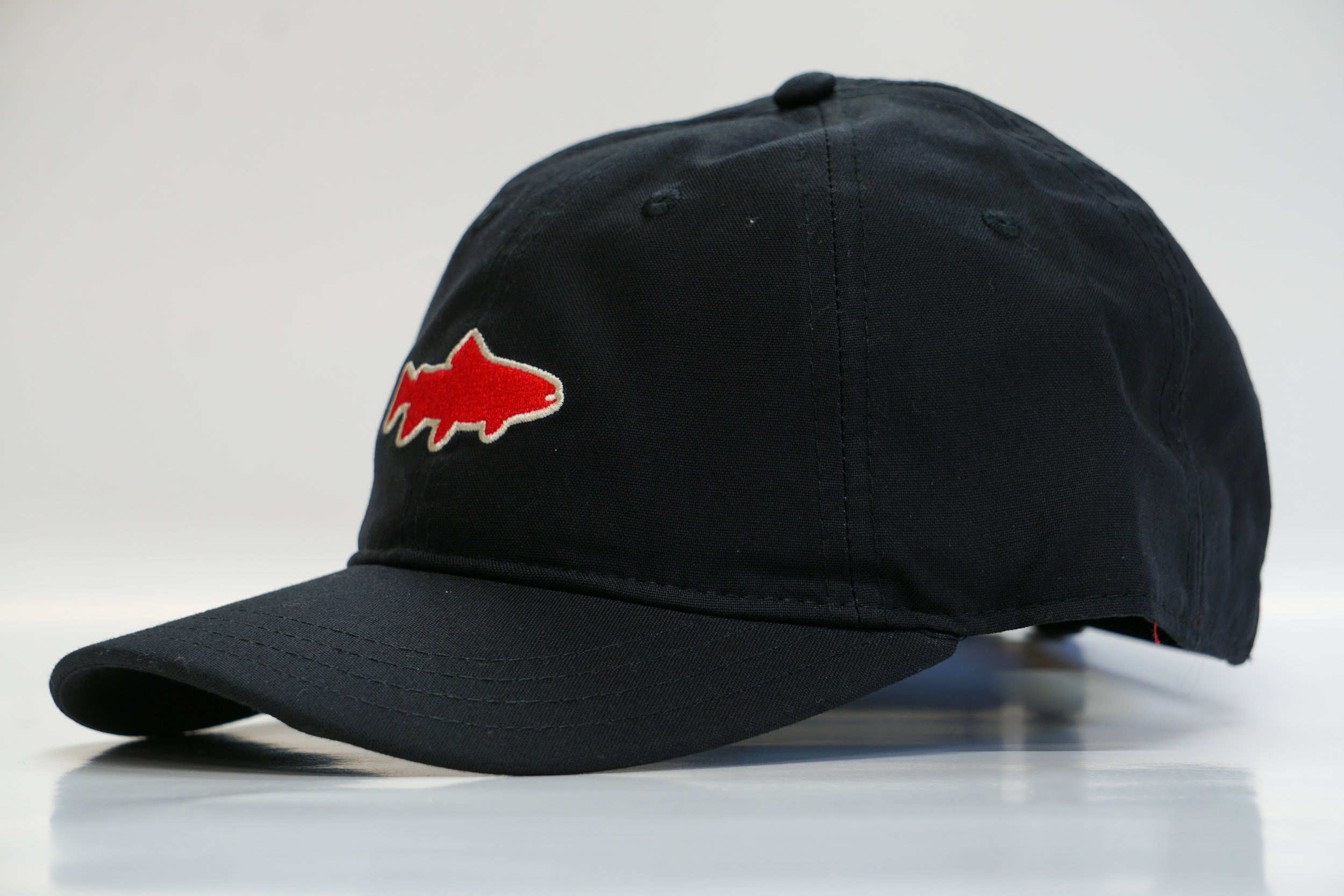 ed6278e28e3 Yewchati Dawgs Trout Hat - Black — Yewchati Co.