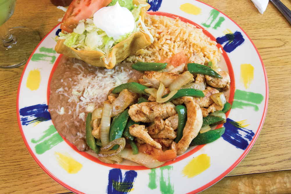 LUNCH FAJITAS