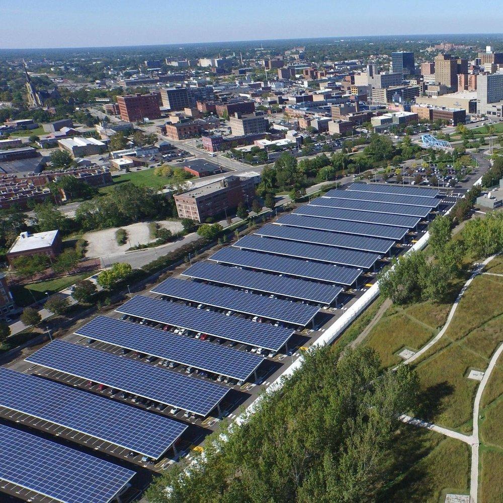 Owens Corning Solar Array and Parking Lot Improvements - Toledo, Ohio