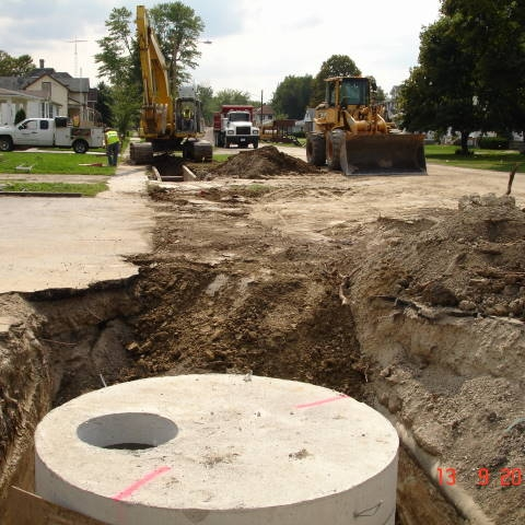 Fifth Street Reconstruction -