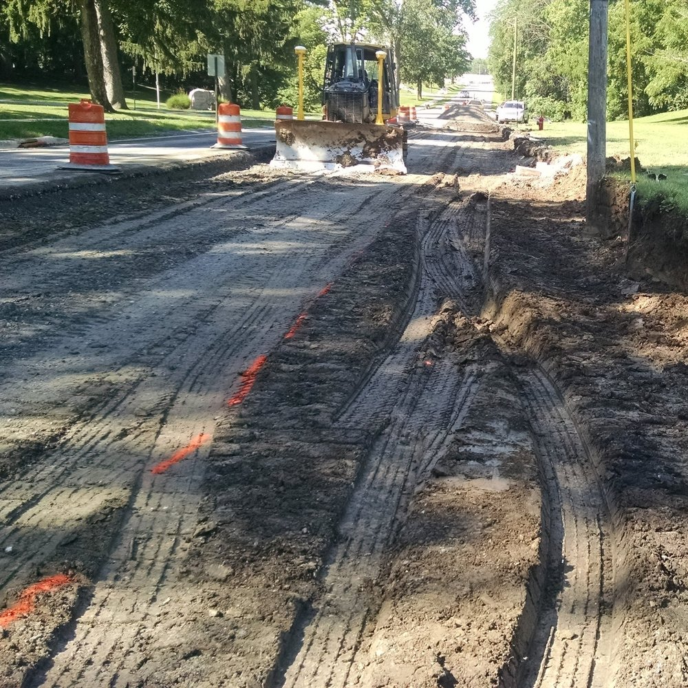 Clinton Street Reconstruction -