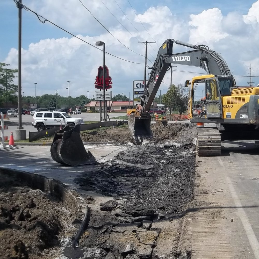 South Main Street Widening and Resurfacing -