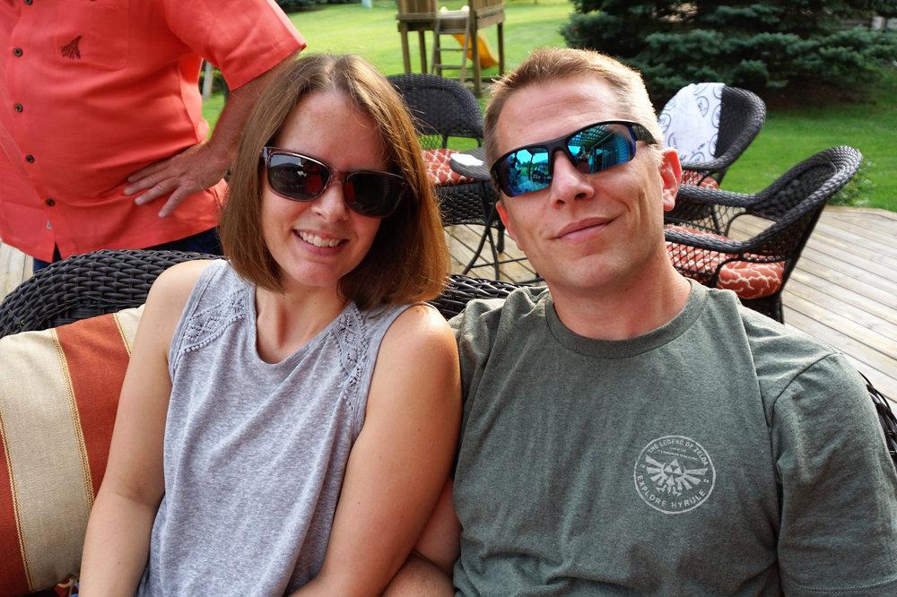 Joan and Steve Cherry