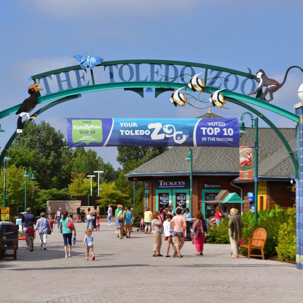 Toledo Zoo Museum Wall -
