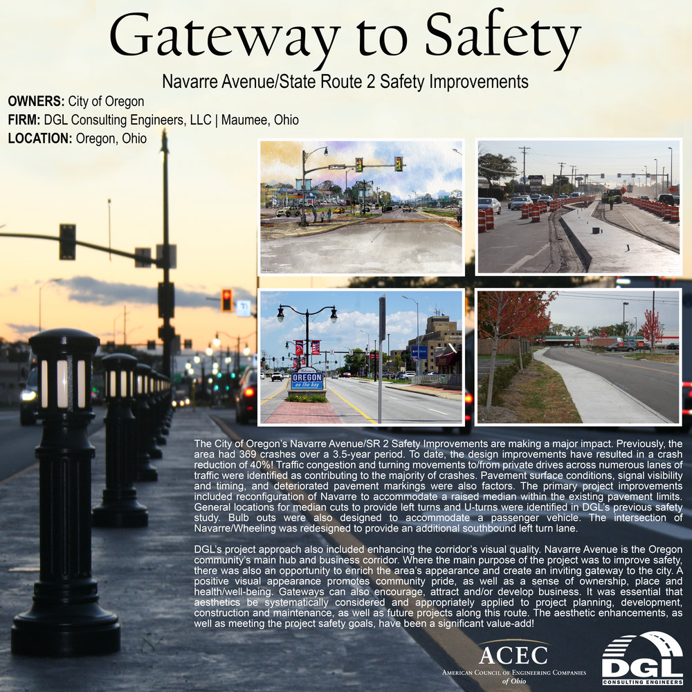 Navarre Ave / State Route 2 Safety Improvements: Gateway to Safety