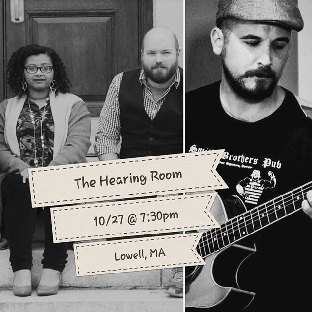 Excited to share the stage with Walker Smith again for our last show of 2017!  The Hearing Room is a not-so-hidden gem in Lowell, MA surrounded by tons of free parking.  119 Chelmsford St. Lowell, MA $5 Cover at the door.