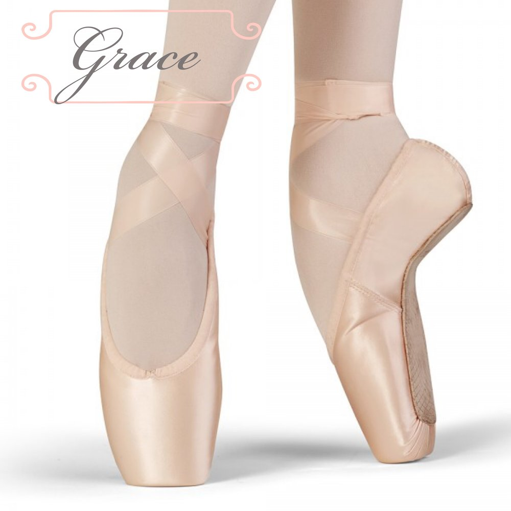 """Dancers are the supreme athletes, therefore, Bloch introduces the first of 2 new models of its Dance Sports Fusion line. The first thing you will notice is the incredible lightness. Weight-wise these are our lightest pointe shoes to date, yet you will find them incredibly supportive. The box shape is so elegant and designed to fit and support the foot for maximum comfort.""  We have sizes 4- 6.5 (street shoe size 6-8.5) X,XX in stock, XXX coming soon! Call to schedule an appointment for a fitting!"