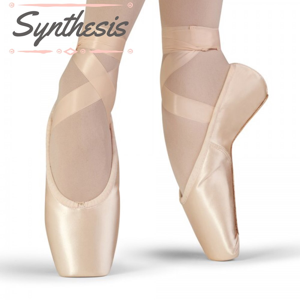 """Dancers require high performance footwear, therefore, Bloch introduces the first of 2 new models of its Stretch Series line. The stretch satin upper hugs to the shape of your foot, creating a beautiful line like no other pointe shoe can and the Relevease insole gives you unparalleled support through Demi on on to pointe.""  We have sizes 4-6.5 (street shoe 6-8.5) X, XX, XXX in stock now, call to make an appointment for a fitting!"