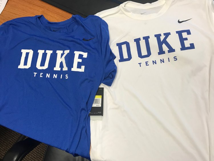 34bf904a1 Nike Dri-Fit Duke Tennis Tees Now Available! — The Royal Blue Club