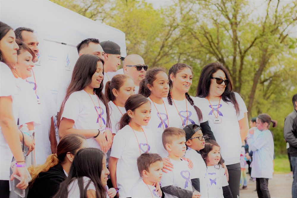 Connecting, One Purple Ribbon at a Time -