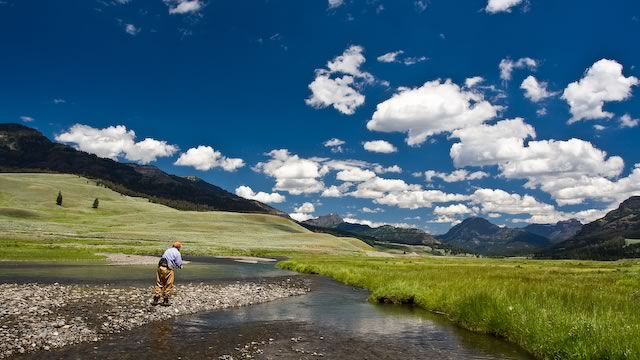 Soda Butte in Yellowstone National Park