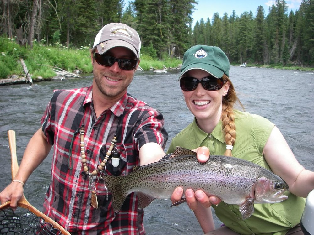 Head Guide Josh with another happy guest!