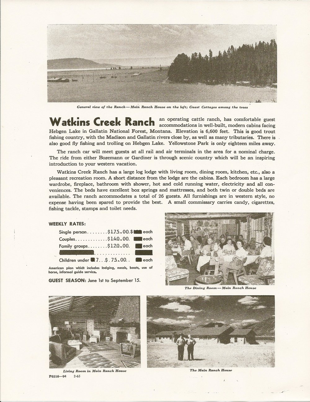 Watkins Creek Northern Pacific Flyer 2