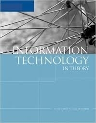 Information Technology in Theory    Pelin Aksoy, Laura DeNardis. Thomson, 2007.